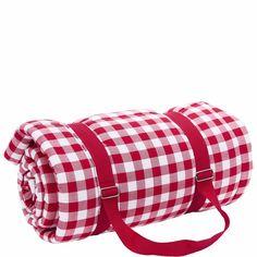 PICNIC DELUXE pikniktakaró piros kockás