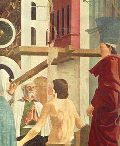 Proof of the True Cross (detail) : PIERO della FRANCESCA : Art Images : Imagiva