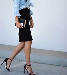 #NicolePham #streetstyle #style #fashionblogger #lovegrabwear #stuartweitzman #zara #rayban #forver21 #denim