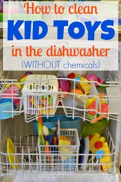 LOVE this chemical free way to clean all your kid's toys!
