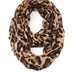 Cozy by LuLu - Too Too Leopard Infinity Scarf from Style Studio by LuLu. Purchased via OpenSky