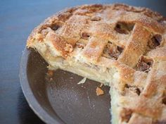 Apple Crème Fraîche Pie | Serious Eats : Recipes