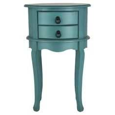 Combining vintage French design influences with a bold modern colouring, this wooden bedside table is equally at home in your country cottage or modern apart. Lounge Furniture, Accent Furniture, Bedroom Furniture, Pacific Homes, Wooden Bedside Table, Drawer Table, Telephone Table, Oval Table, Wood Accents