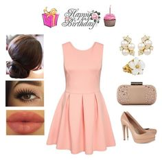"""""""Happy Birthday @teodoramaria98!!!!!!"""" by muppets-cookie-monster ❤ liked on Polyvore"""