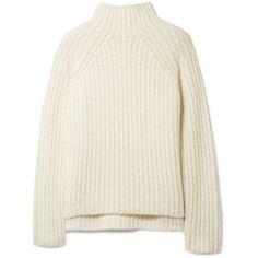 Theory Rifonia chunky-knit wool-blend turtleneck sweater (49515 RSD) ❤ liked 53c442c0b