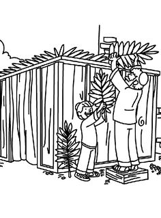 FREE Sukkah Banner Printables: Rules of the Sukkah