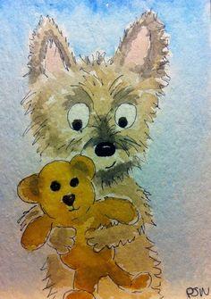 Oscar the Cairn Terrier