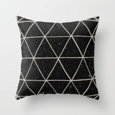 Throw Pillow featuring Geodesic by Terry Fan