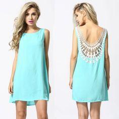 Sexy-Women-Sleeveless-Backless-Chiffon-Lace-Solid-Cocktail-Party-Mini-Dress-2015