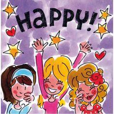 Happy! - blond amsterdam