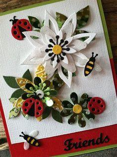 Image result for images of cards made with Elizabeth Craft Designs dies