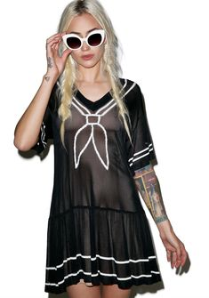 Wildfox Couture Annabelle Dress let s get lost at sea baybee! This flirty  sailor inspired short 004dc8e7b
