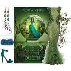 Book Look: The Magic Queen By Jovee Winters by xmikky on Polyvore featuring ASOS, Judy Geib and Crate and Barrel