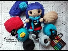 Lovety Crochet Doll - Parte 1 (Pernas)
