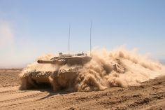 Chilean Army tank