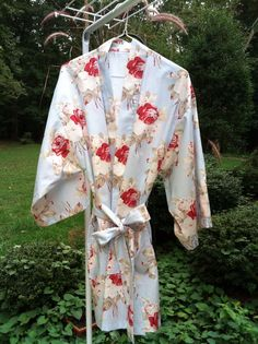 Custom Cotton Kimono Robes by Belles of Cotton: http://belles-of-cotton.myshopify.com/collections/robes/products/robes