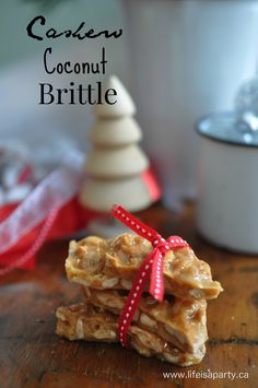 Author says: I thought it would be fun to make a few different kinds of candy this year for gift giving.  I always make an amazing butternut crunch toffee every year…so perhaps I was a little over confident.  A…