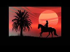 21 The Man Who Chose To Smile - A happy feel good instrumental by Paul Collier Horse Wallpaper, Horse Silhouette, Red Sunset, Wild Horses, Best Songs, The Man, Feel Good, Videos, Moose Art