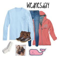 """whale shirt wednesday "" by mallory-d ❤ liked on Polyvore featuring Current/Elliott, Vineyard Vines, Sperry and American Eagle Outfitters"