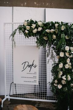 The newest addition to the W+B fam. Our white mesh screen makes the perfect floral backdrop for any do. Here it is snapped along side the… Wedding Show Booth, Bridal Show Booths, Wedding Props, Diy Wedding, Wedding Ideas, Floral Backdrop, White Backdrop, Mesh Screen, Wedding Signage