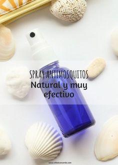 Prepara tu propia receta spray antimosquitos natural casero. Solo con ingredientes naturales. Te explico el paso a paso de la receta.