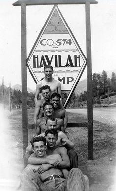 CCC (Civilian Conservation Corps) Camp, 1930s