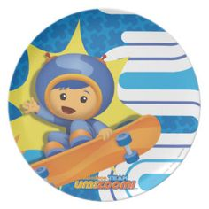 Geo S-Curve Skate Party Plate | Team Umizoomi