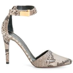 The Snakeskin Pump