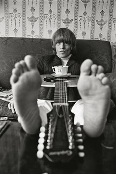 Bent REJ :: Brian Jones at Home, London, 1965