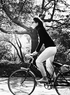 Jackie riding in Central Park