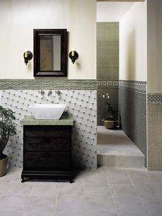 Decorar el baño con azulejos