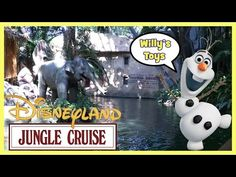 Disneyland Resort Jungle Cruise Tour Family Fun Animals River OLAF Willys Toys -  #bird #birding #bird_watchers_daily #animal #birdwatching #pets #nature_seekers #birdlovers Dog Training – The Perfect Pooch System!  Click HERE! Join Willy on the Disneyland Resort Jungle Cruise adventure tour! Check out the many different animals while cruising the ship / boat,... - #Birds