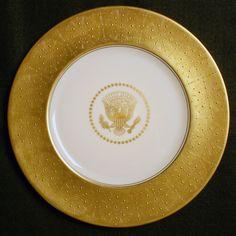 White House China for President Dwight D. Eisenhower
