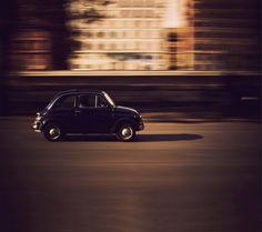 "Photo ""Fiat 500"" by Moyan Brenn #OGQ_Backgrounds"