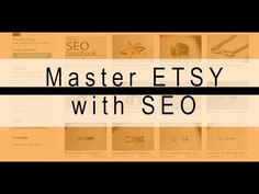 How to make money online with Etsy SEO with Titles, Keywords and Descrip...