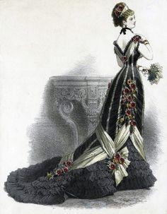 Ballkleid, 1879