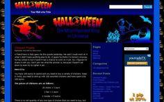 Free Wordpress Themes - Halloween Wordpress Template #wordpress #wordpressthemes #halloween