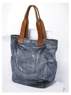 Denim handbag great job please Visit my site https://www.upcyclingbymilo.com/ for more products