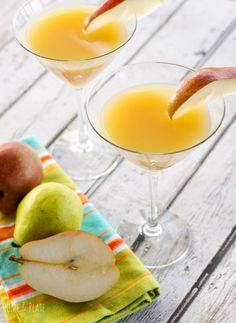 Elderflower Peartini aka French Pear Martini I've had the pleasure ...