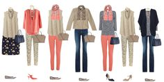 Spring capsule wardrobe, capsule wardrobe casual wear