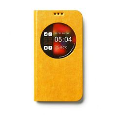 Trendy Galaxy S5 Z-View Maple Diary Geel. Bekijk deze en andere telefoonhoesjes op http://telefoonhoesjes-shop.nl