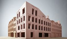 Brick Architecture, Classical Architecture, Architecture Details, Architecture Models, Roof Design, Facade Design, Duggan Morris, Base Building, Roof Extension
