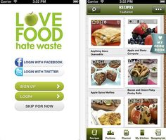 This free Love Food Hate Waste app generates recipes from your leftovers. Time to throw a fridge party! Get the Android app version here.