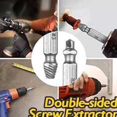 Get this stainless steel deburring tool and use it to repair damaged bolts Metal Working Tools, Work Tools, Homemade Tools, Diy Tools, Hand Tools, Welding Projects, Diy Projects, Welding Ideas, Metal Projects