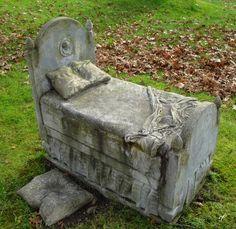 Now I lay me down to sleep...  Mt. Auburn Cemetery, Boston MA