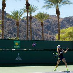 Photos from Indian Wells: Robson & Bouchard Enjoy Mixed Fortunes | Women's Tennis Blog