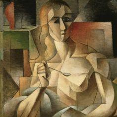 Tea time, Jean Metzinger, 1911 #art #painting #art #oil #cubism #Metzinger #France #Frenchart #frenchpainting #modernart #modernism #modernpainting #perspective #instaart #artoftheday #arthistory