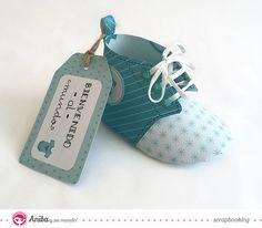 zapato papel scrapbook 4