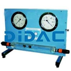 Fluid Mechanics, Educational Software, Lab Equipment, Pressure Gauge, Control Valves, Vacuums, Clear Acrylic, Clock, Watch