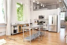 Image result for ideas for small apartment kitchens